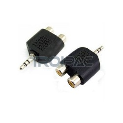 Aioni audio adapteri rca naaras 3.5mm uros