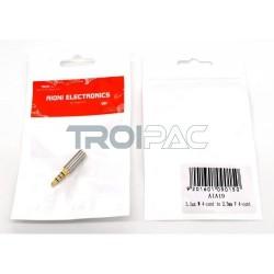 Aioni 3.5mm uros - 2.5mm naaras adapteri